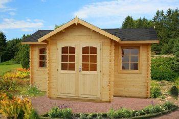 blockhaus oder holzhaus als gartenhaus zum selber bauen. Black Bedroom Furniture Sets. Home Design Ideas